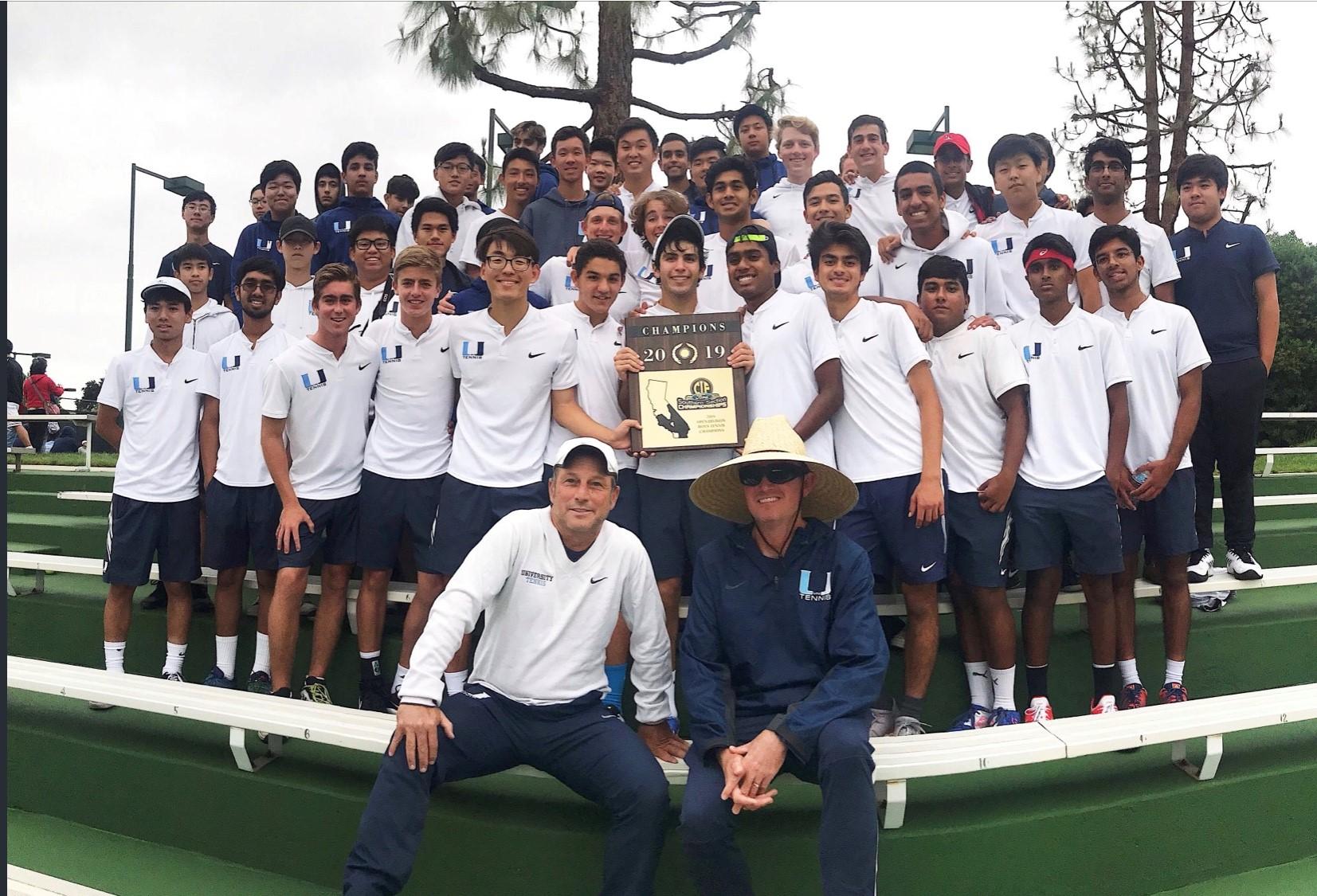 Boys Tennis CIF Champs