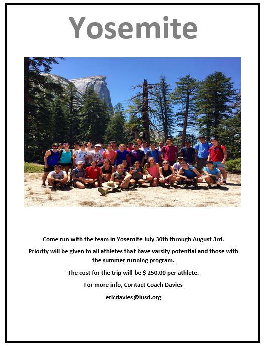 Cross Country Yosemite Flyer