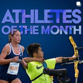 Sept Athletes of the Month