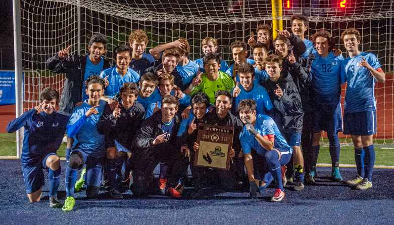 2018 CIF Souther Section Boys Soccer Champions