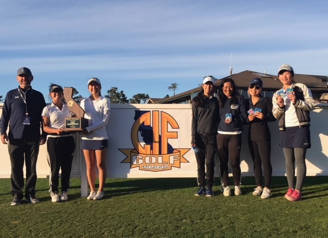 2018 Girls Golf State Champions