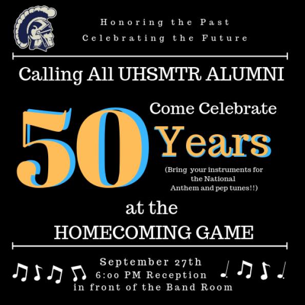 Band Alumni Flyer