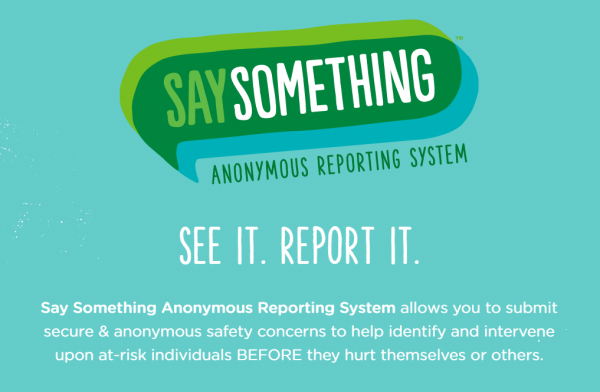 Say Something Anonymous Reporting